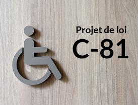 Adoption du projet de loi C-81
