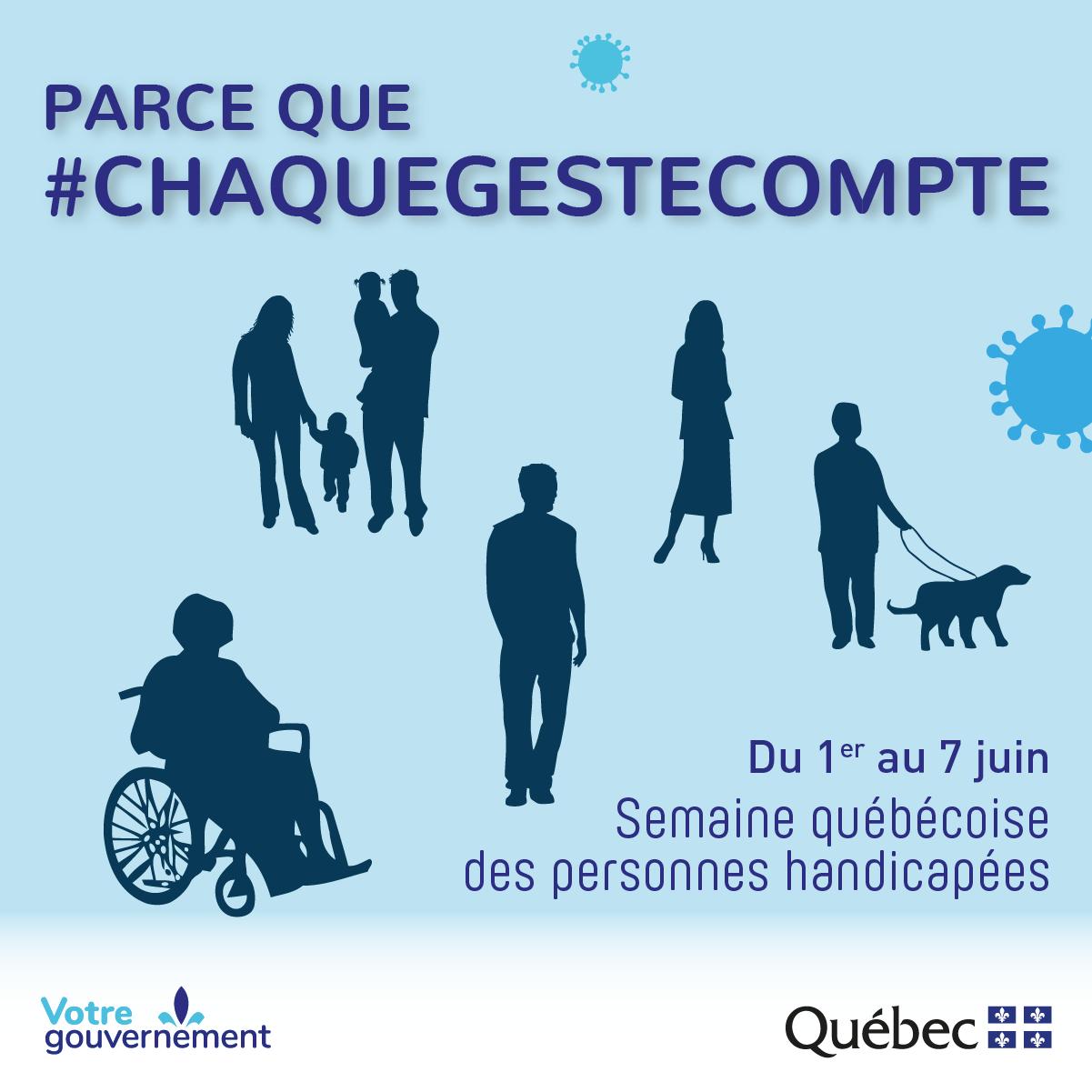 Semaine québécoise des personnes handicapées