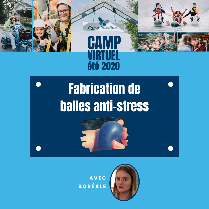 Fabrication de ballles anti-stress